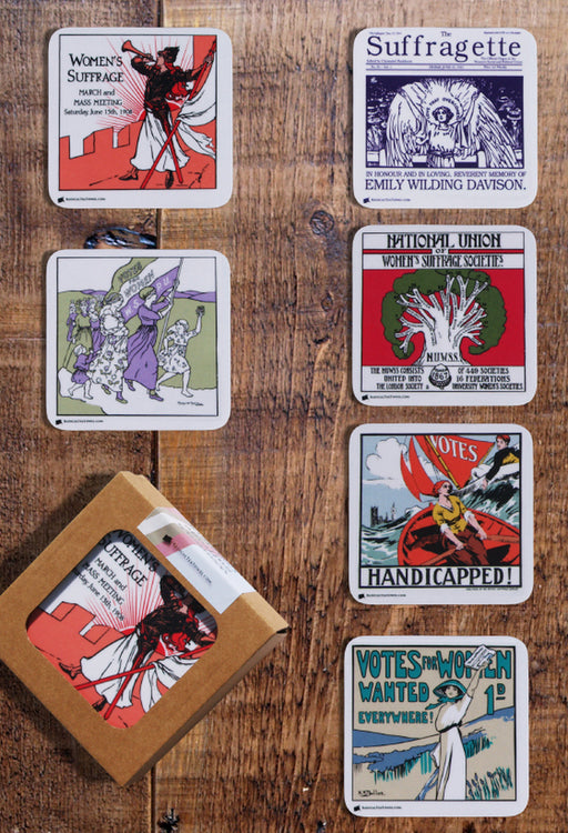 Women's Suffrage Coaster Collection