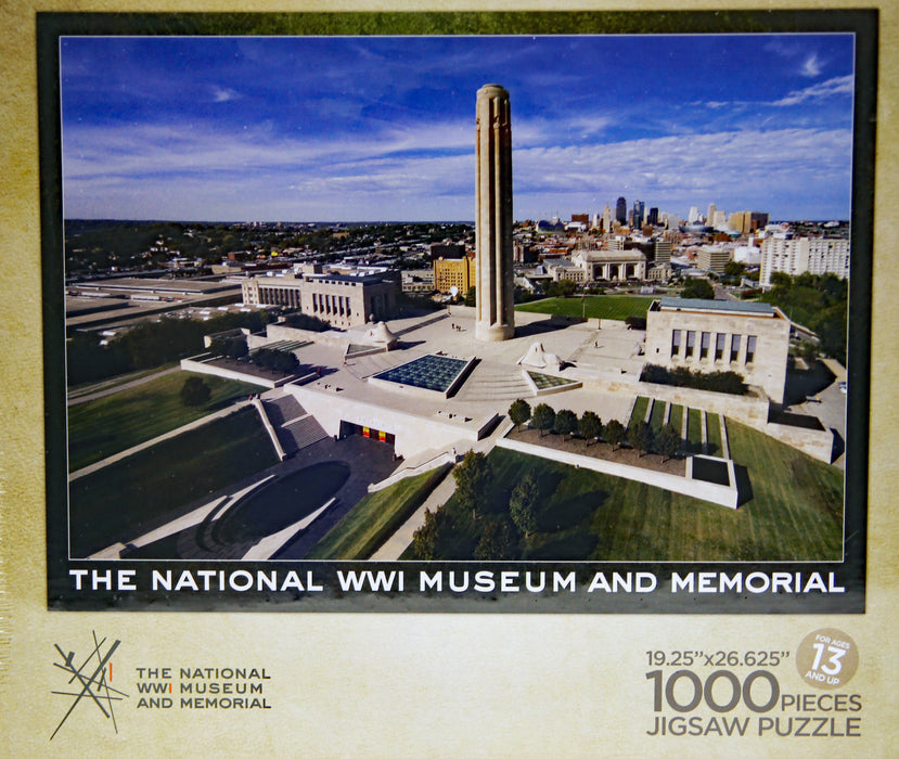 National WWI Museum & Memorial 1000 pc Puzzle