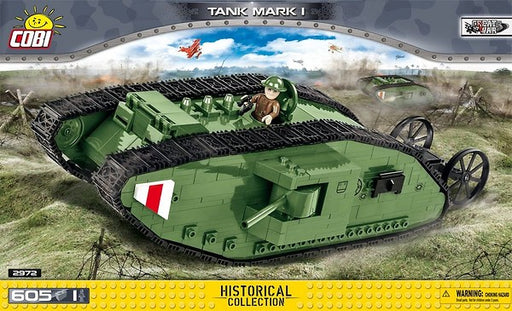 COBI Blocks Mark I Tank Model Kit