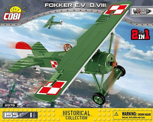 COBI Blocks Fokker D.VIII Model Kit