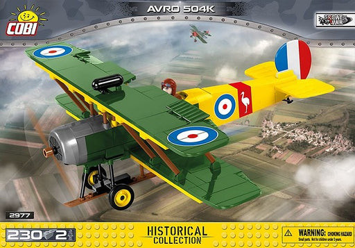 COBI Blocks Avro 504k Model Kit