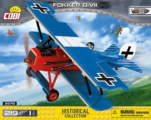 COBI Blocks Fokker D.VII Model Kit