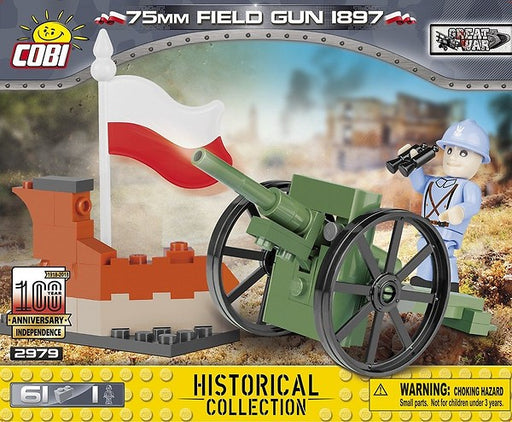 Cobi Blocks 75mm Field Gun Model Kit