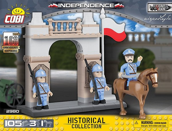 COBI Toys - 1918-2018 100 Years Anniversary Independence