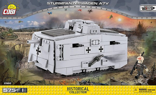 Cobi Blocks Sturmpanzerwagen A7V Tank Model Kit