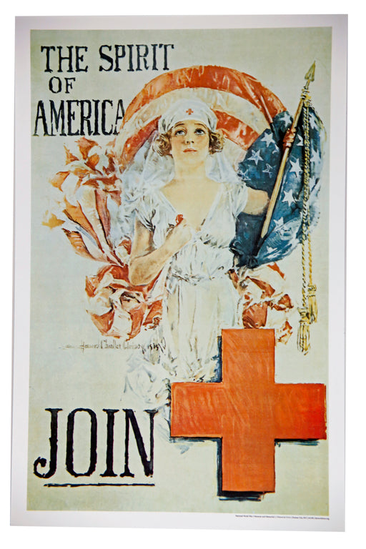 Mini Poster - Red Cross