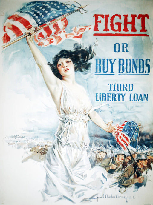 Fight or Buy Bonds poster 150