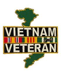 Vietnam Veteran Patch with Map