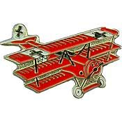 Small Fokker Tri-Plane Pin