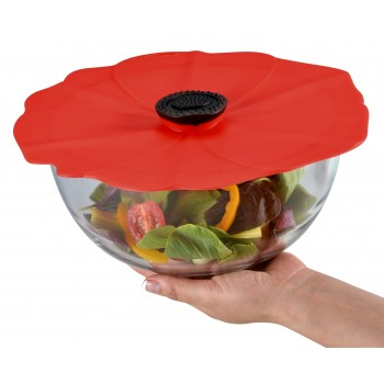 "13"" Silicone Poppy Lid"