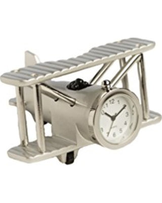 Sanis Small Biplane Desktop Clock
