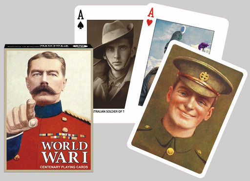 World War I Centenary Playing Cards