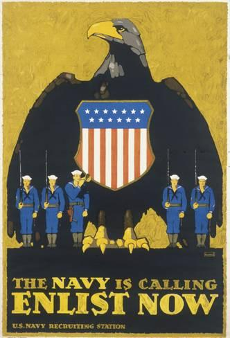 The Navy is Calling Poster 180