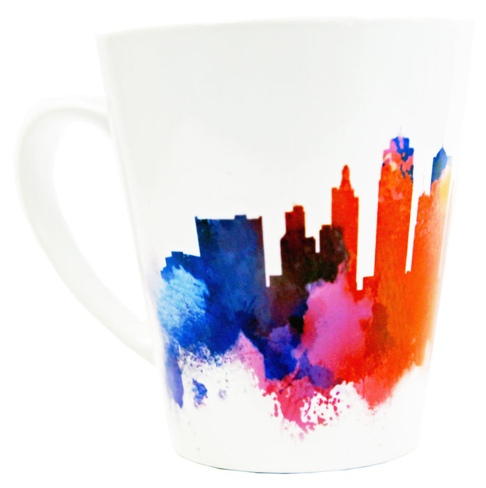 KC Watercolor Skyline Mug