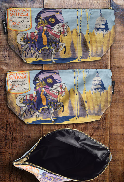 Washington DC Suffrage Toiletry Bag