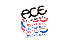 Ace Trucks Stickers Standard Logo 6
