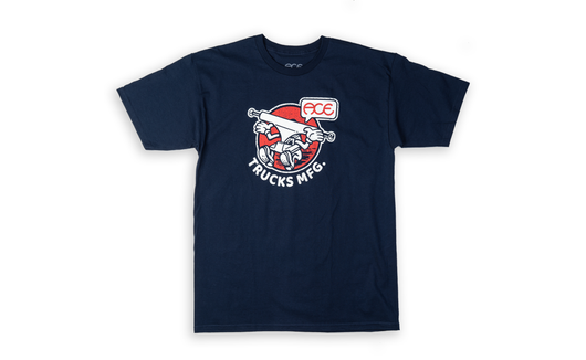 Ace Trucks Howdy T-Shirt - Navy