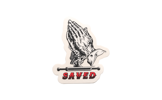 Ace Saved Hands Sticker  - 3