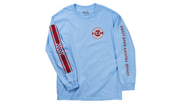 Ace Trucks Retro Jersey Longsleeve - Powder Blue