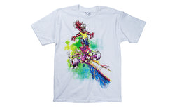 Ace Trucks Purple Coping Eater T-Shirt - White