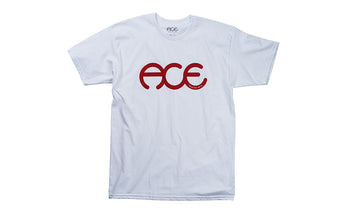 Ace Trucks Rings T-Shirt - White