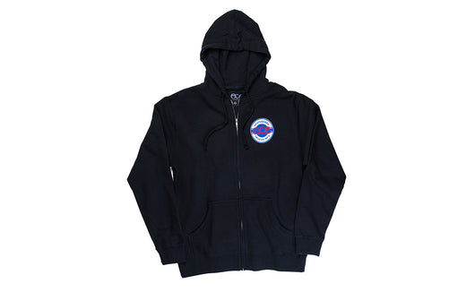 Ace Trucks Round Logo Zip Hood - Black