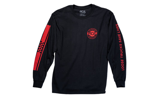 Ace Trucks Retro Jersey Longsleeve - Black