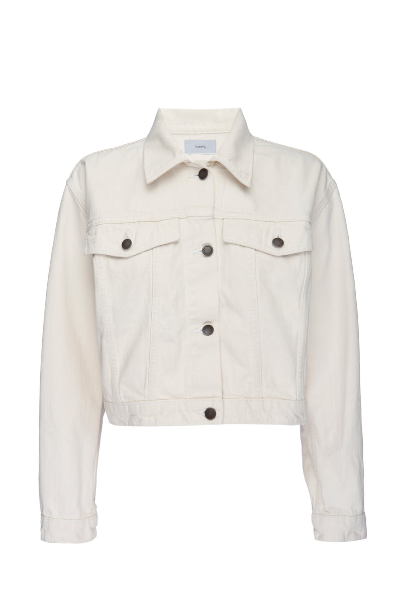 Off White Denim 100% BCI Cotton Jacket