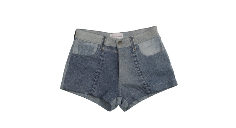 Indigo Vintage Denim Shorts