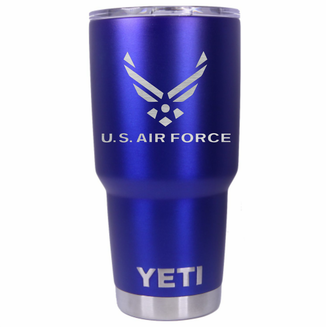 US Air Force Anodized Blue 30oz Yeti