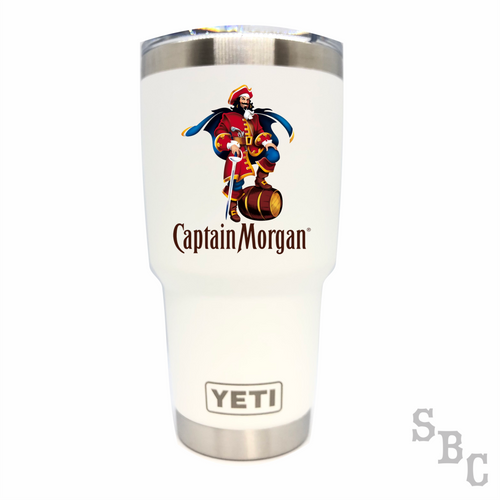 Captain Morgan Yeti Rambler Tumbler