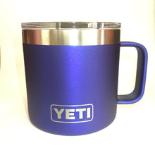 Anodized Blue Yeti Rambler Tumbler Cup - Small Batch Customs