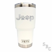 Jeep Paws Yeti Rambler Tumbler - Small Batch Customs