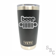 Jeep Beer Yeti Rambler Tumbler - Small Batch Customs