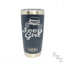 Jeep Girl Yeti Rambler Tumbler - Small Batch Customs
