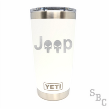 Jeep Punisher Yeti Rambler Tumbler - Small Batch Customs