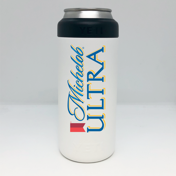 Michelob Ultra Yeti Colster Slim Can Insulator