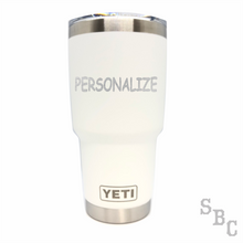Personalized (Custom) Yeti Rambler Duracoat - Small Batch Customs