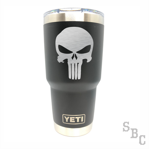 Punisher Yeti Rambler Tumbler Cup - Small Batch Customs