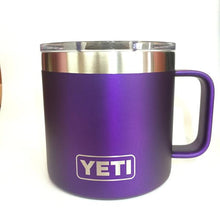 Matte Anodized Purple Yeti Camp Mug Coffee Cup - Small Batch Customs