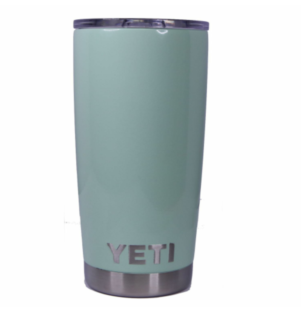 Mint Green Yeti Rambler Tumbler Cup - Small Batch Customs
