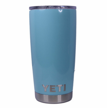 Seafoam Yeti Rambler Tumbler Cup - Small Batch Customs
