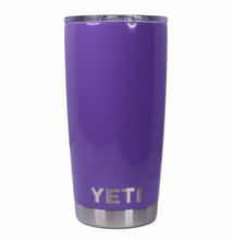Lavender Purple Yeti Rambler Tumbler Cup - Small Batch Customs