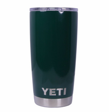 Forest Green Yeti Rambler Tumbler Cup - Small Batch Customs