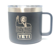 Trump Great Dad Yeti Rambler Tumbler