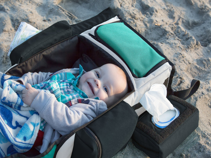 The Decka Changing Station has a removable, liquid-resistant padded liner making it an excellent bassinet when not being used to change diapers