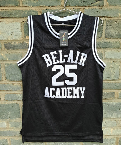 #25 Bel Air Academy Basketball Jerseys