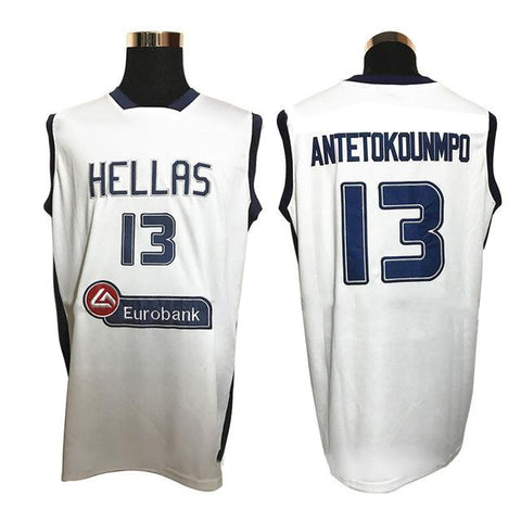 Greece Team Throwback Sti Basketball Jersey