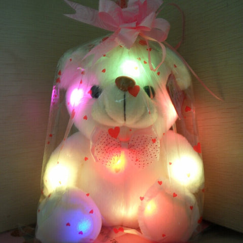 Lovely Soft LED Colorful Glowing Teddy Bear