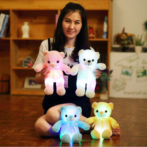 LED Lighting Stuffed Luminous Plush Toys
